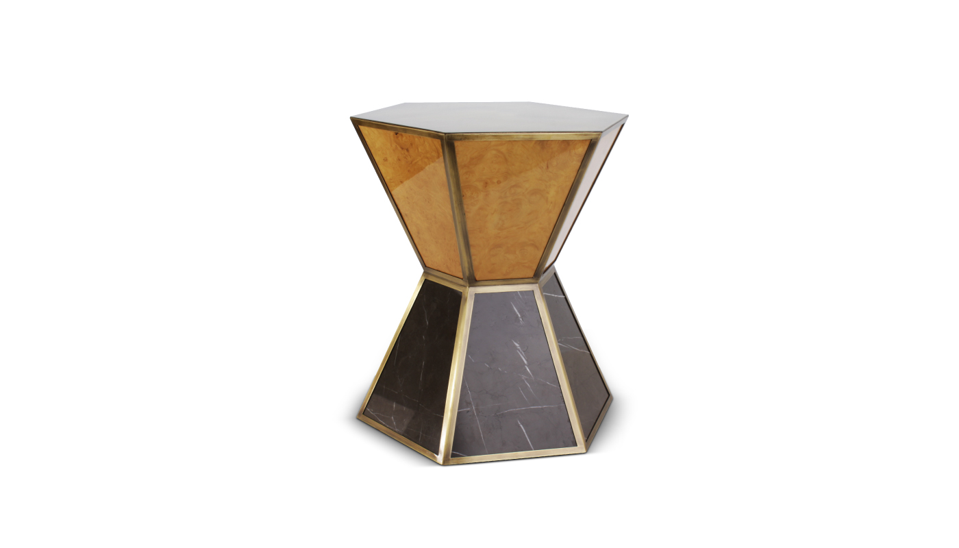 Bryant Side Table By Porus Studio Modern Contemporary