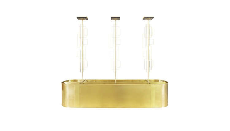 Skyscraper Suspension Lamp