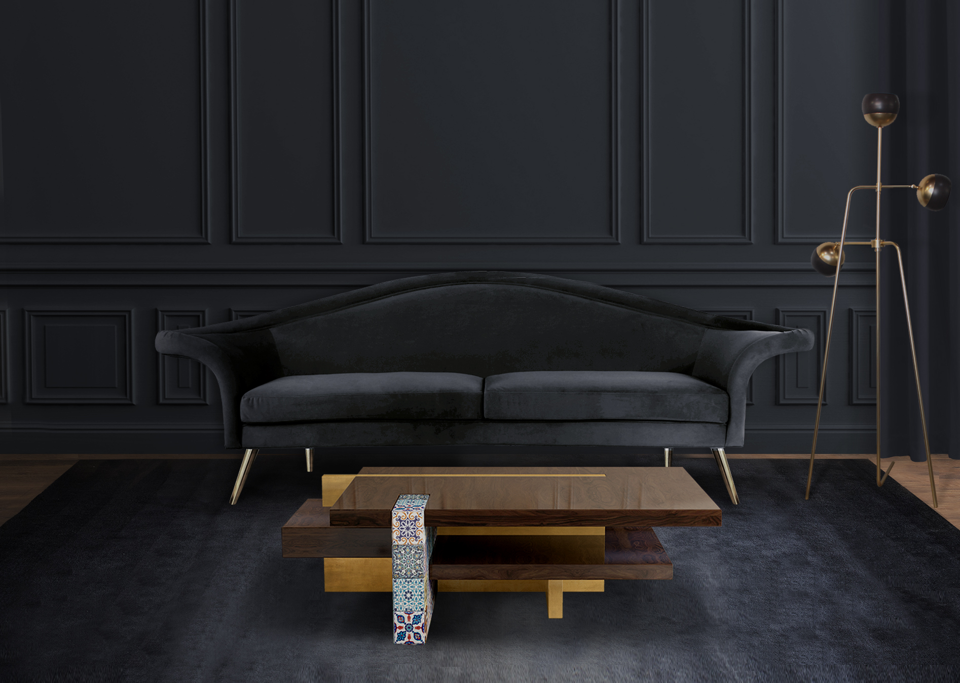 Replacement Of Furniture Using Mid Century Modern Sofa Or A New Gadget Will Bring Luxury Interior Design Character To Your Living Room