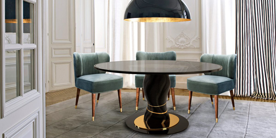 The Absolute Modern Dining Table Is Inspired By The Stunning Absolute World  Building. The Residential Skyscraper Complex, With A Radical Design For  Curvy ...