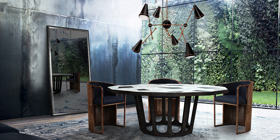 round dining tables for living spaces porus studio