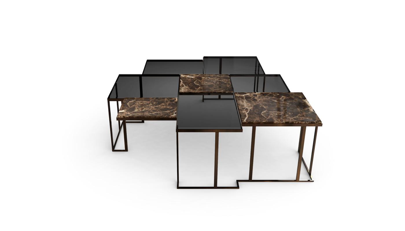 Square Center Table by Porus Studio | Modern ...