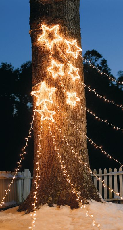 Christmas Light Outside - Inspiration