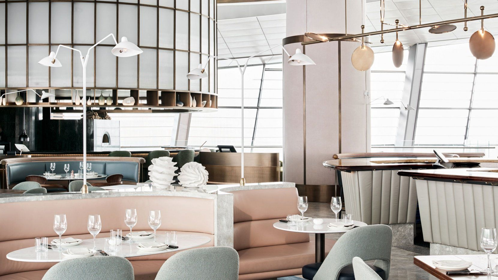 Top 5 Restaurant Interiors Design