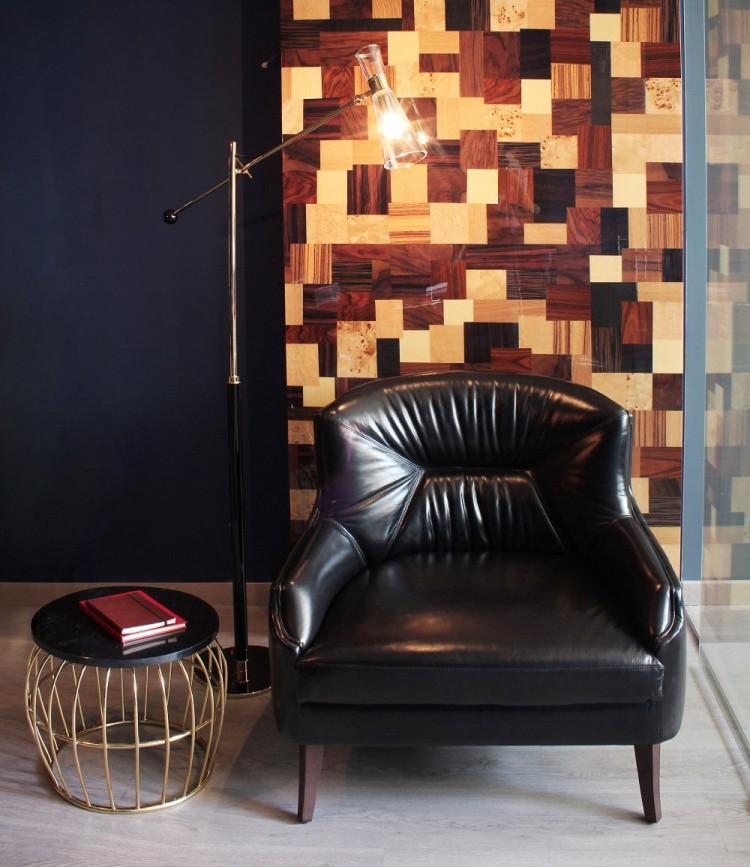 Kīlauea Armchair in Showroom