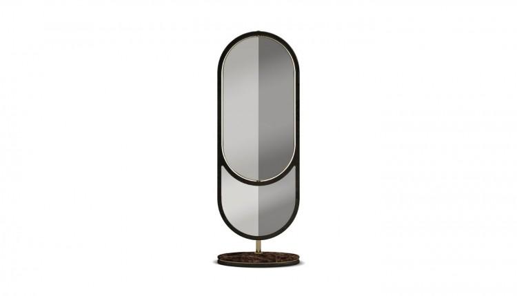 Hidden Floor Mirror