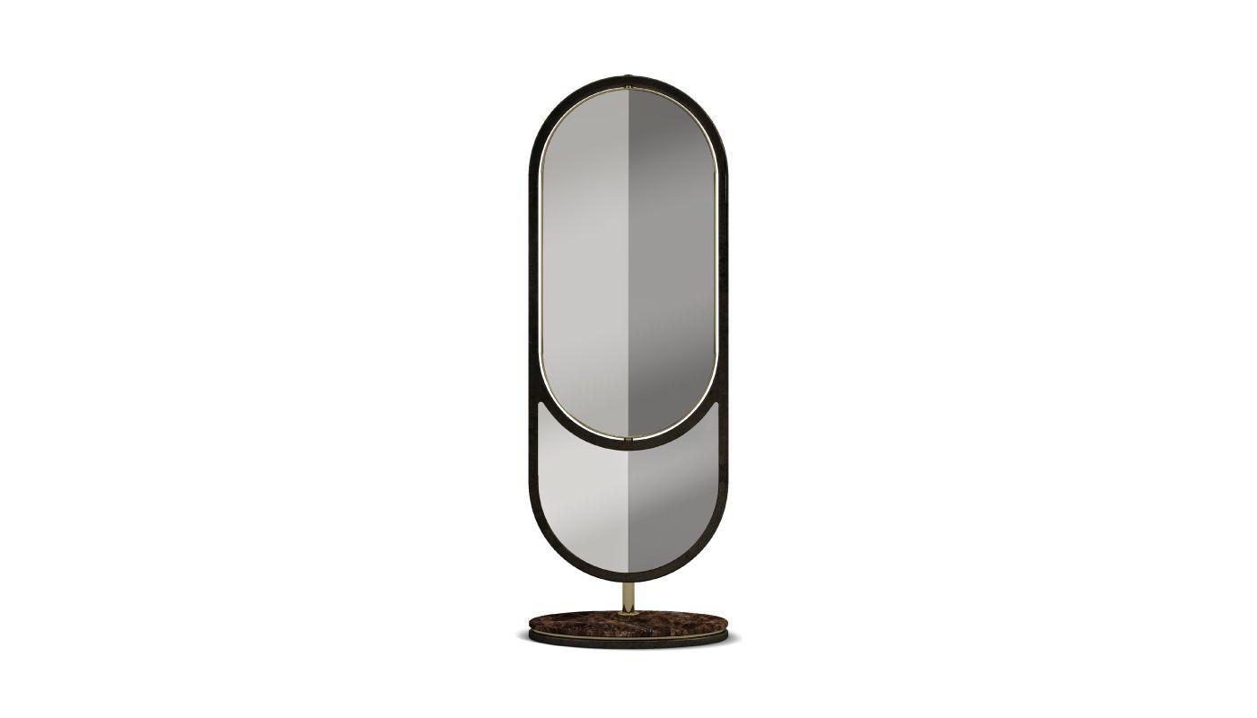 Hidden Floor Mirror by Porus Studio | Modern & Contemporary