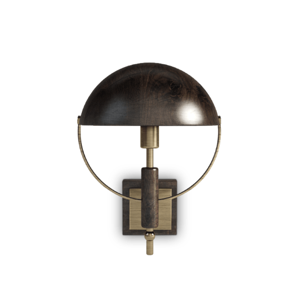 Faraday wall lamp by Wood Tailors Club