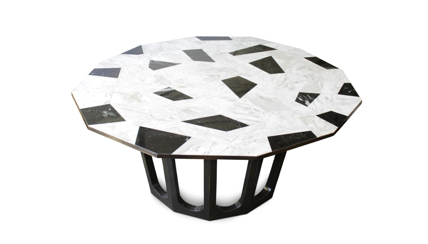 Luxury-marble-dining-table