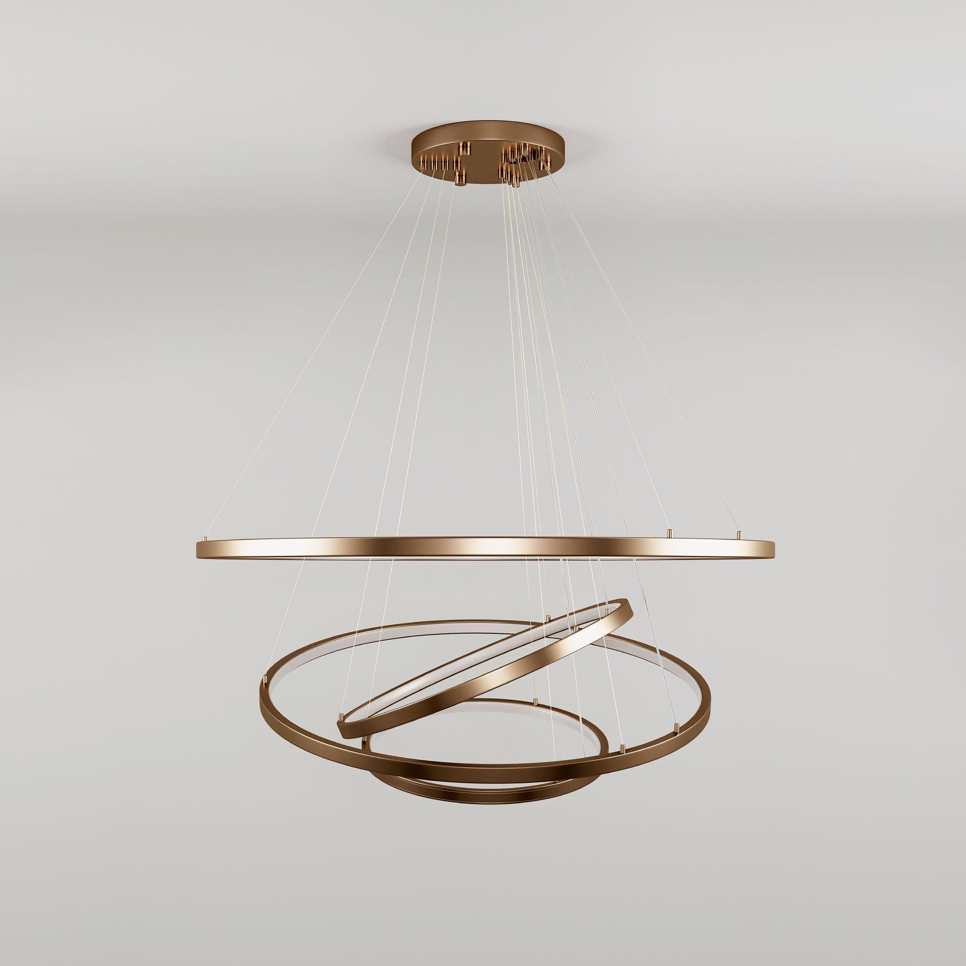 Gateway suspension lamp