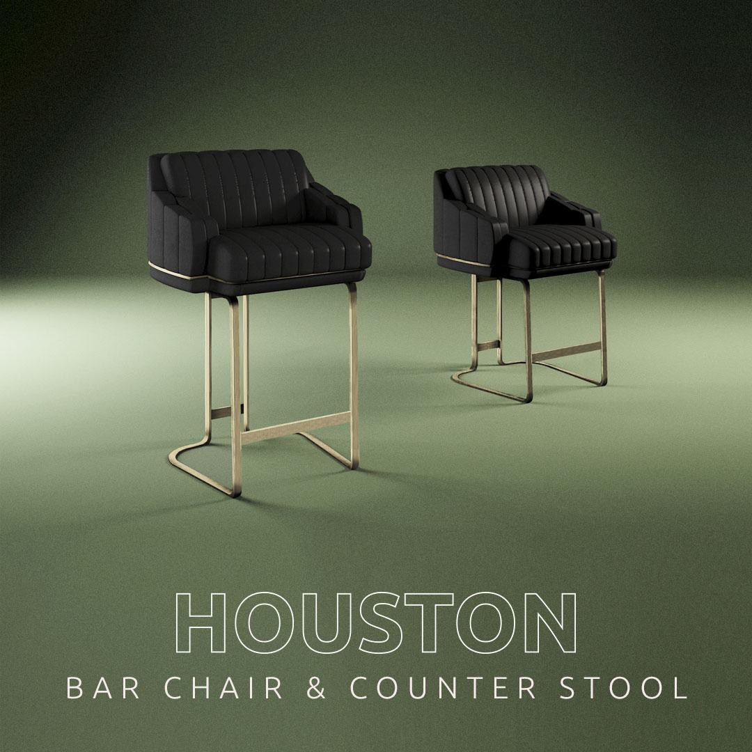 Houston Bar Chair