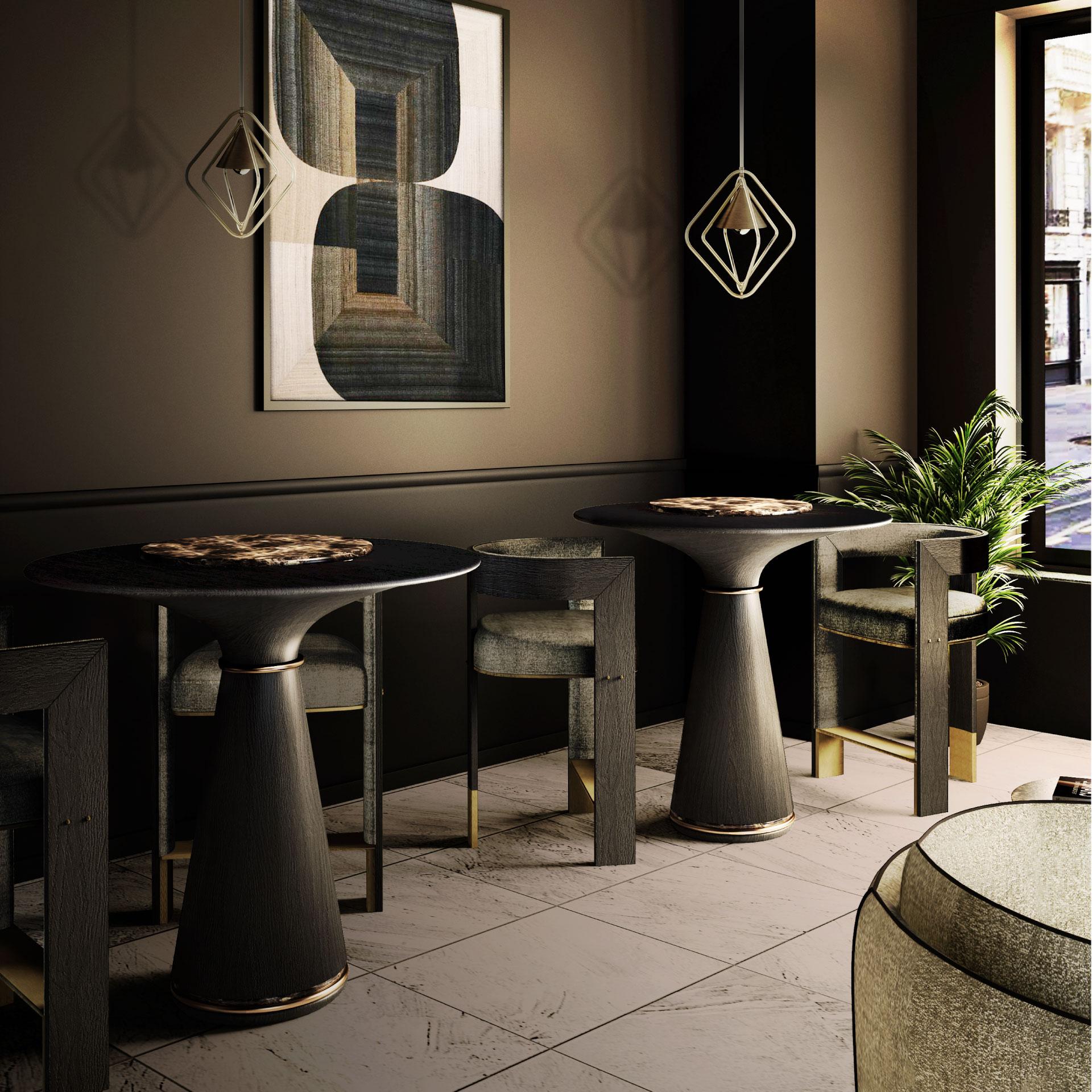 Manhattan Bar Table