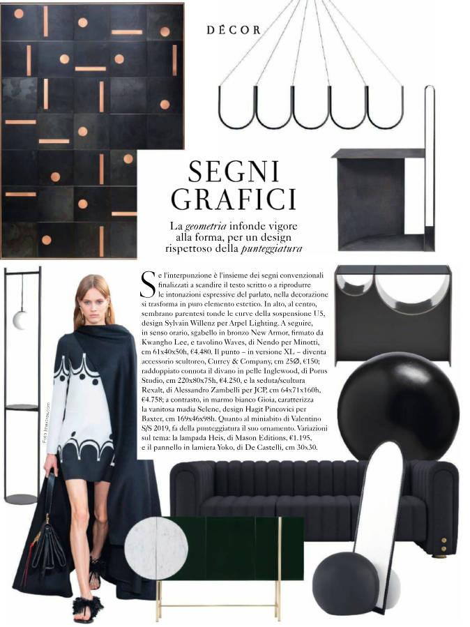 Marie Claire Maison Italia 2019 March Inglewood Sofa