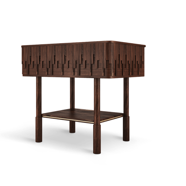 Campbell Nightstand by Wood Tailors Club