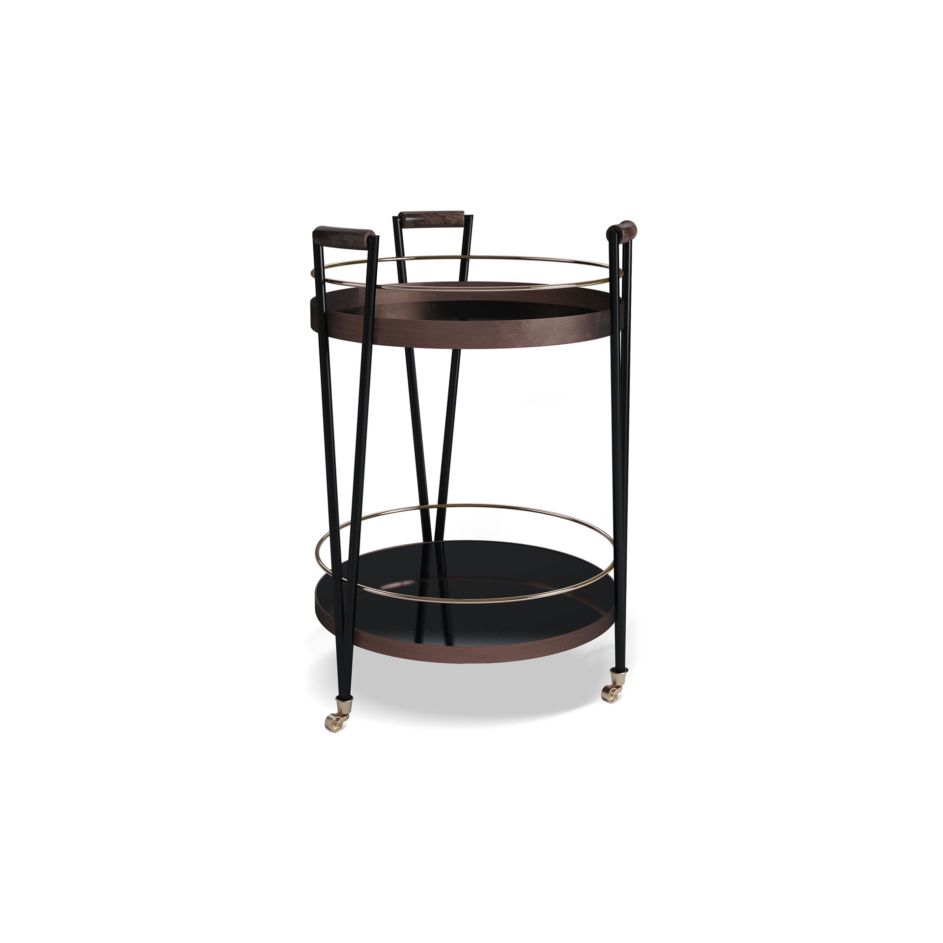 Crossroads Bar Cart