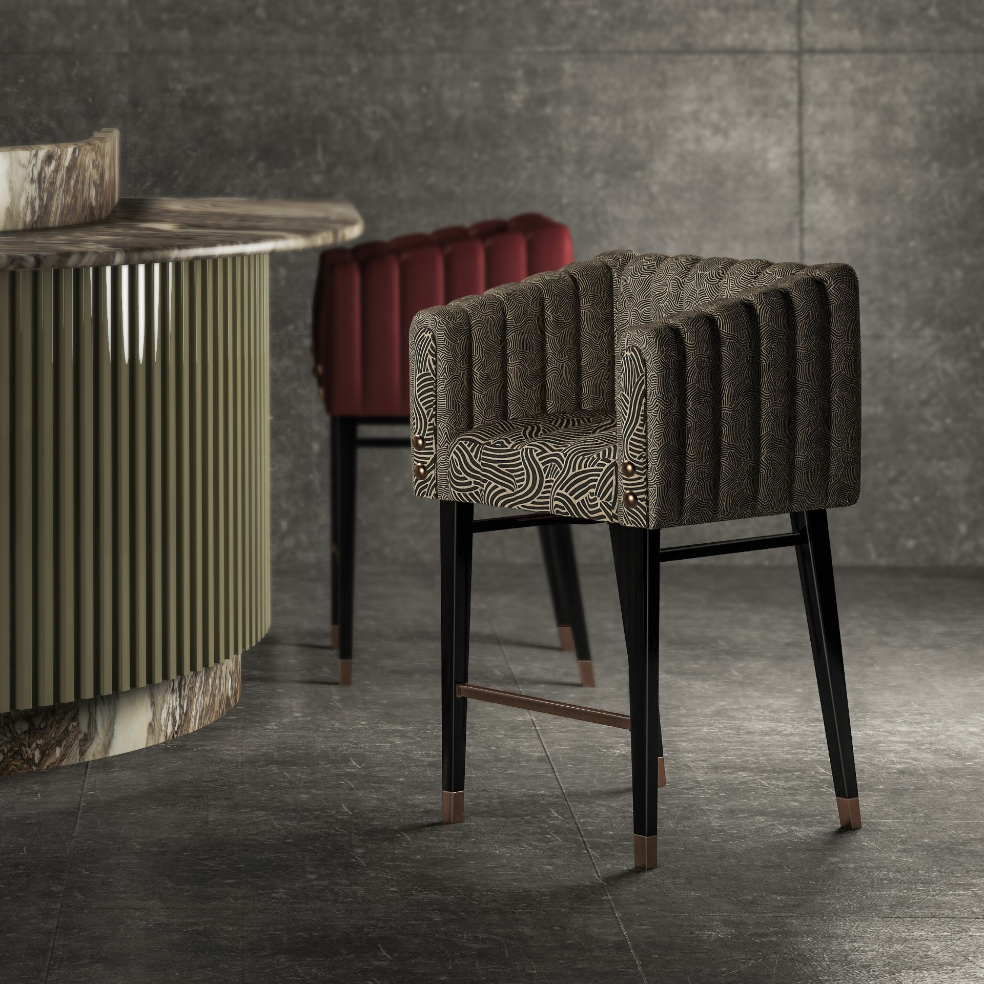 Inglewood Bar Chair