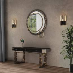 Lakewood Mirror in Hall Ambience