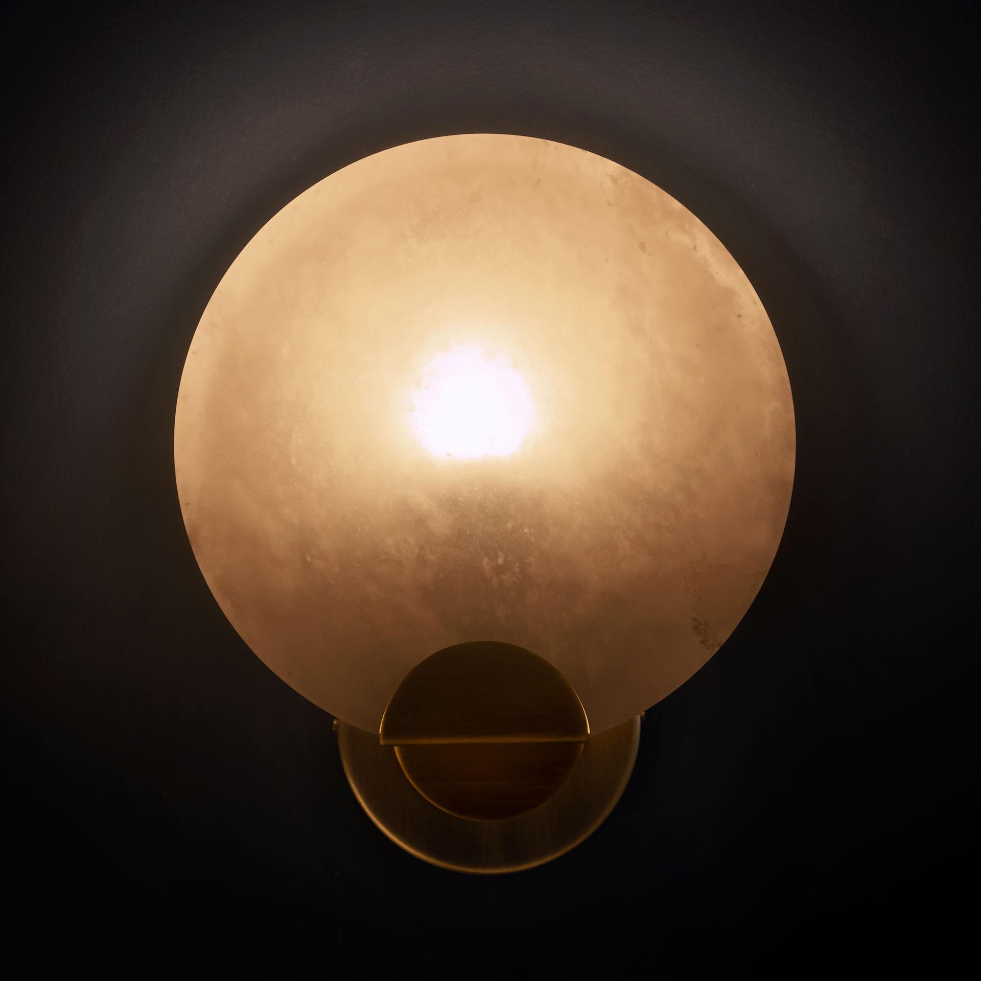 Walla walla wall lamp